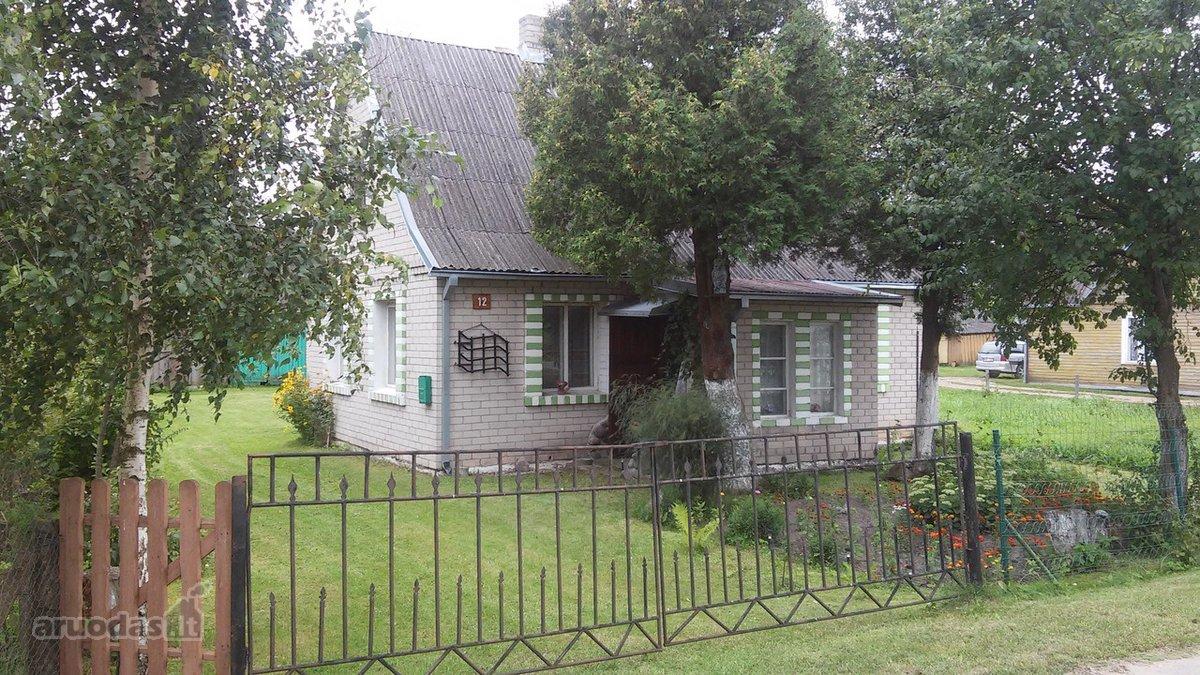 Kauno r. sav., Vandžiogalos mstl., Butkūnų g., mūrinis namas