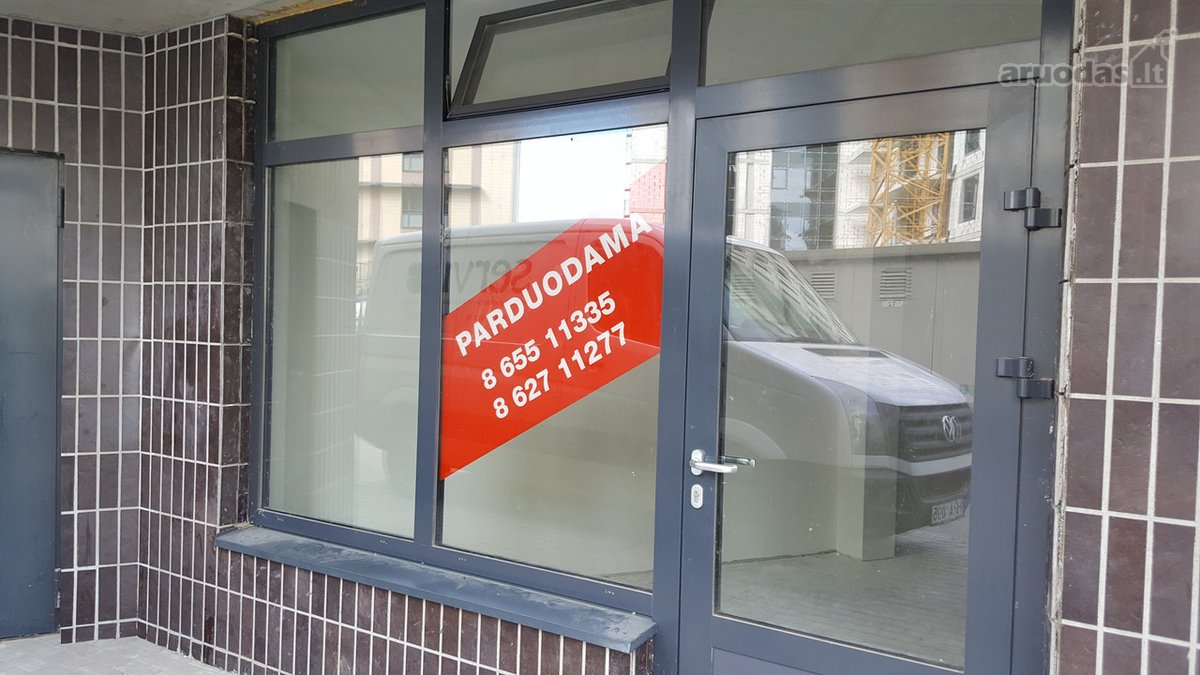 Parduodamos patalpos komercinei veiklai