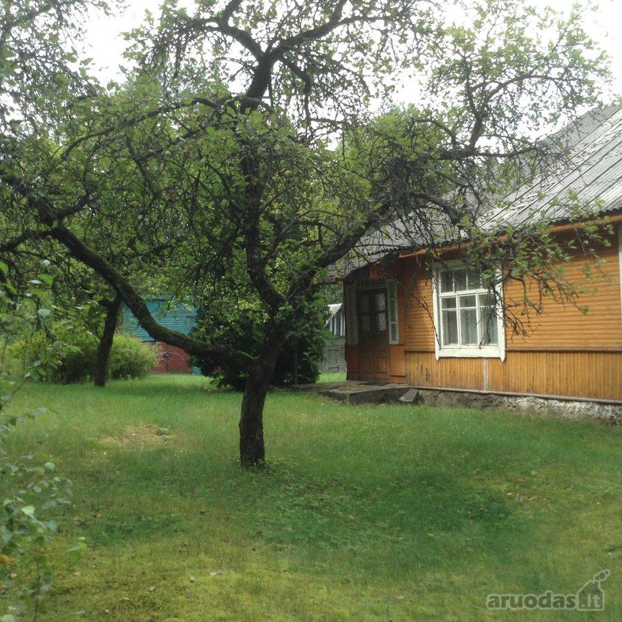 Šalčininkų r. sav., Jašiūnų k., medinis namas