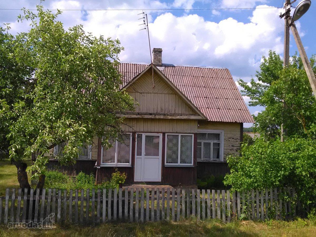 Varėnos r. sav., Dubičių k., medinis namas