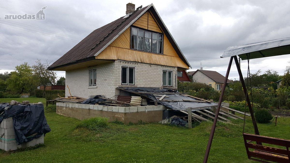 Varėnos r. sav., Barčių k., Vieversių g., mūrinis sodo namas