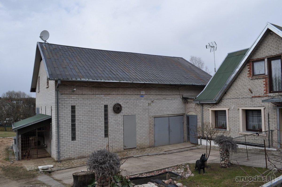 Kauno r. sav., Karkazų k., mūrinis namas