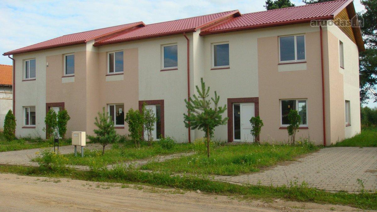 Trakų r. sav., Lentvario m., Birutės g., mūrinis sublokuotas namas
