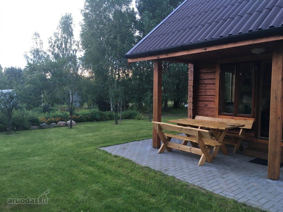 Vilniaus r. sav., Balsiškių k., Ąžuolynės 1-oji g., medinis sodo namas