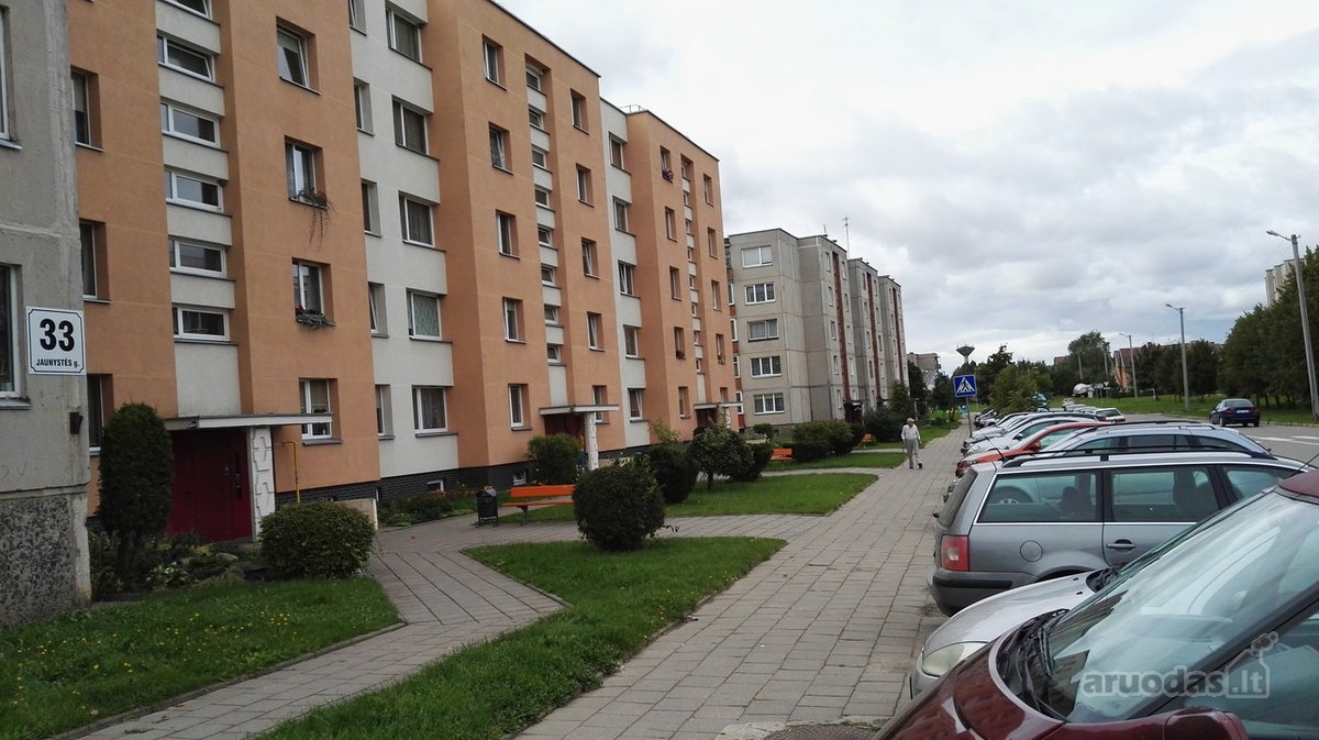 Radviliškio r. sav., Radviliškio m., Jaunystės g., 2 kambarių butas
