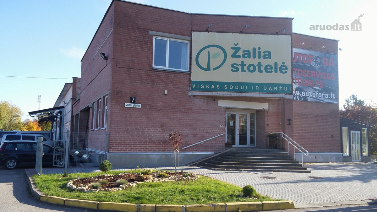 Klaipėda, Kauno, Šilutės pl., biuro, prekybinės, paslaugų, sandėliavimo, gamybinės, kita paskirties patalpos nuomai