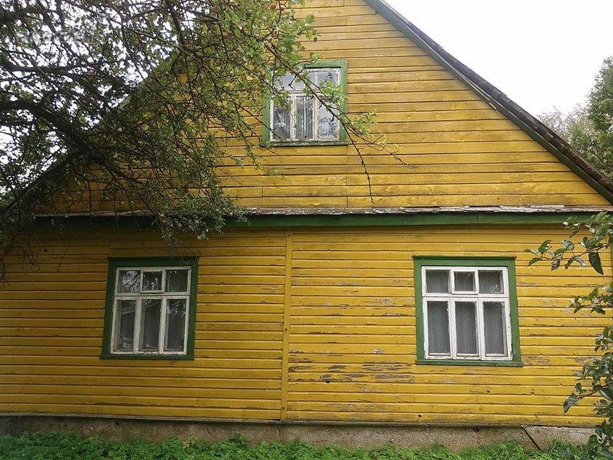 Anykščių r. sav., Vosgėlių k., medinis namas