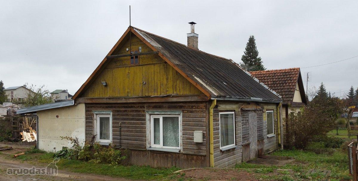 Kauno r. sav., Karmėlavos mstl., Vilniaus g., medinis namas
