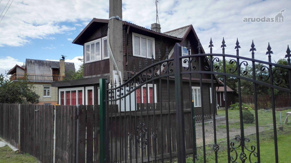 Vilnius, Rasos, rąstinis namas