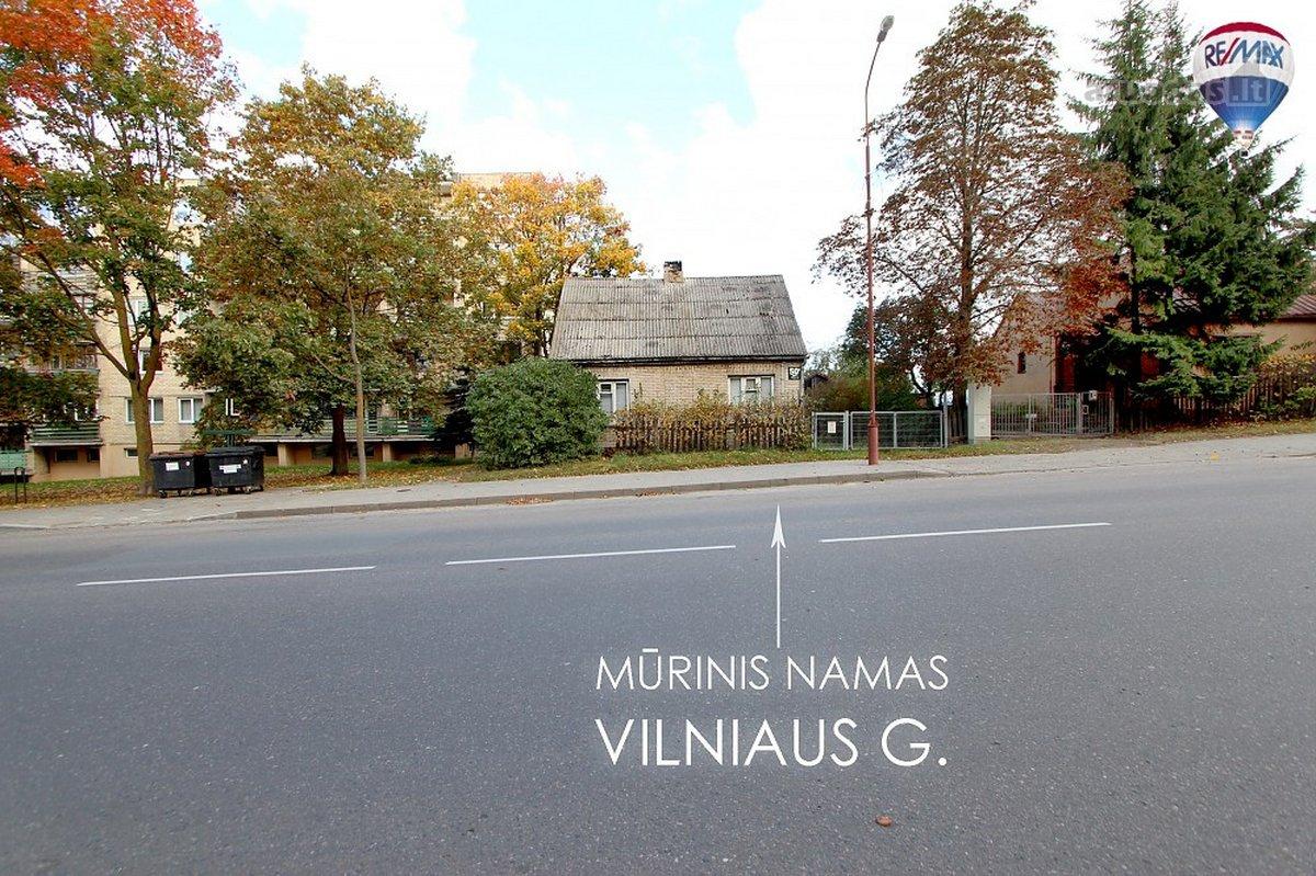 Šiauliai, Šimšė, Vilniaus g., mūrinis namas