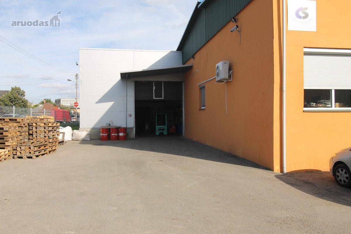 Kaunas, Vilijampolė, Raudondvario pl., biuro, sandėliavimo, gamybinės paskirties patalpos nuomai