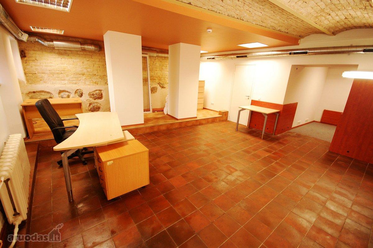 Vilnius, Senamiestis, A. Jakšto g., biuro, gamybinės paskirties patalpos