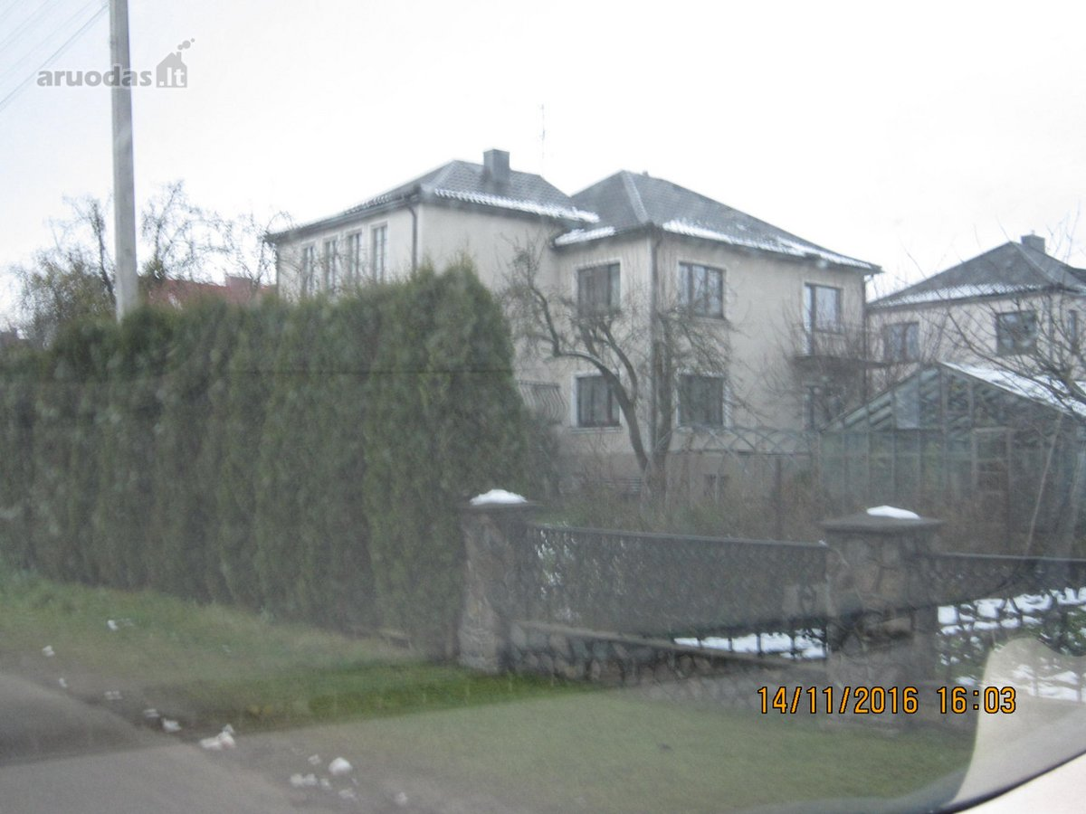 Kauno r. sav., Garliavos m., Ramybės g., mūrinis namas
