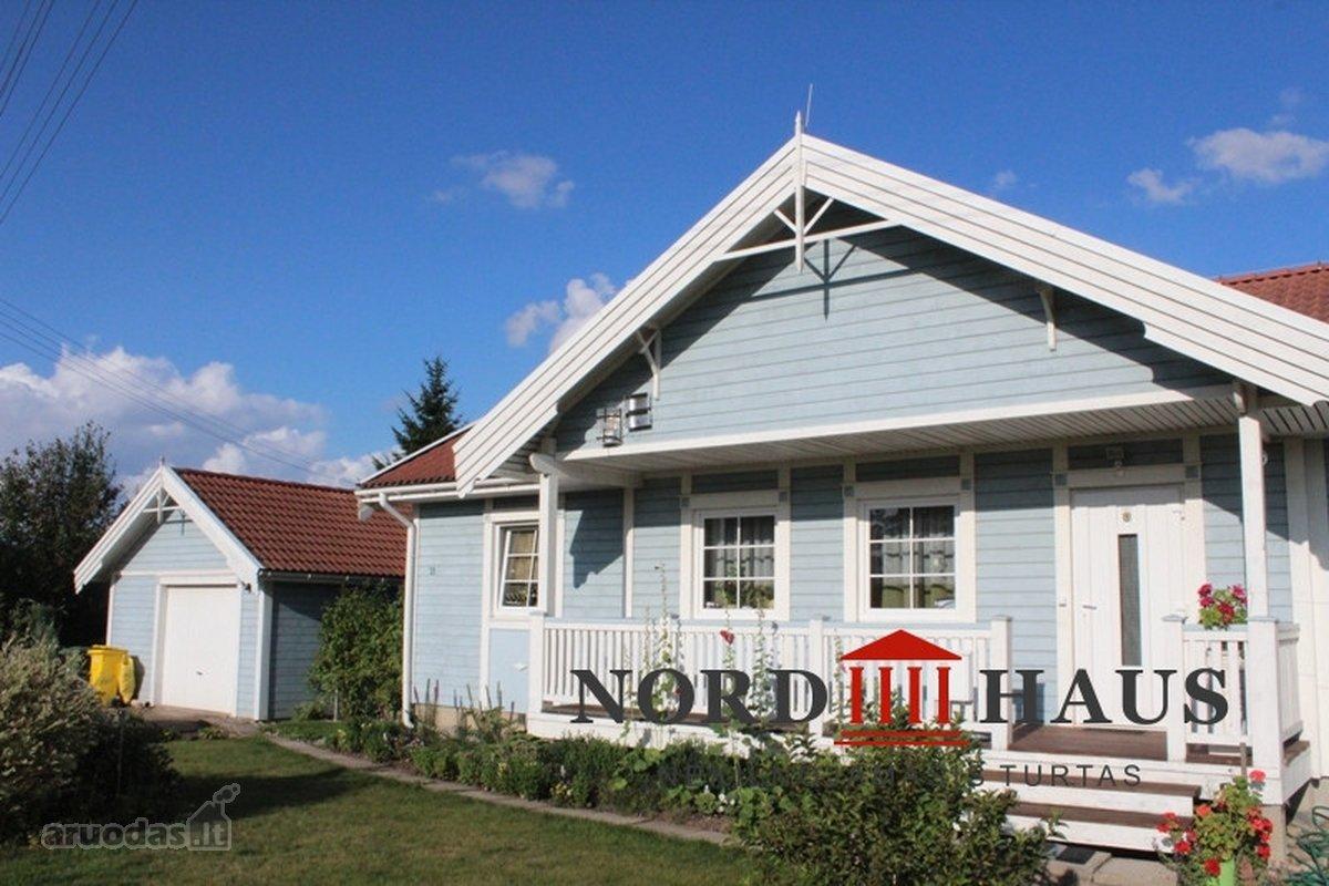Parduodame norvegiško stiliaus karkasinį namą