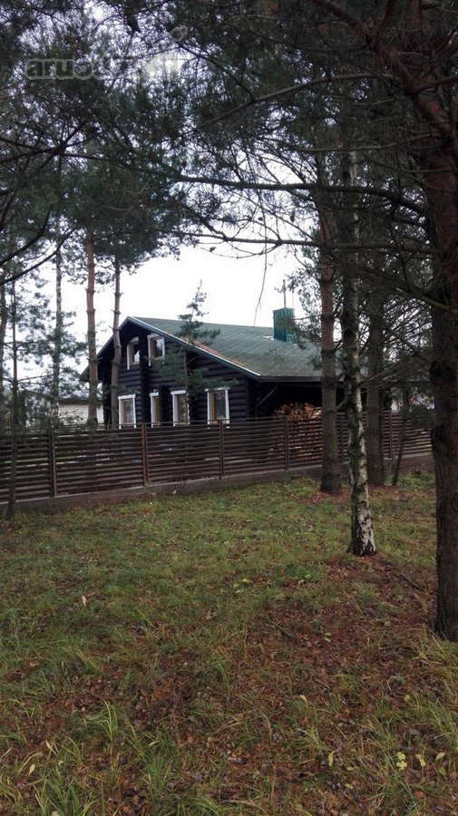 Palanga, Šventoji, Žemuogių tak., rąstinis namas