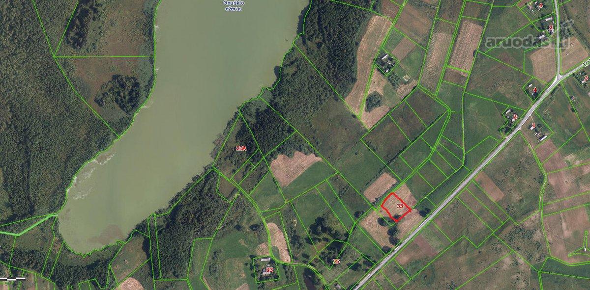 Parduodu 0,324 ha žemės sklypą namų valdai,