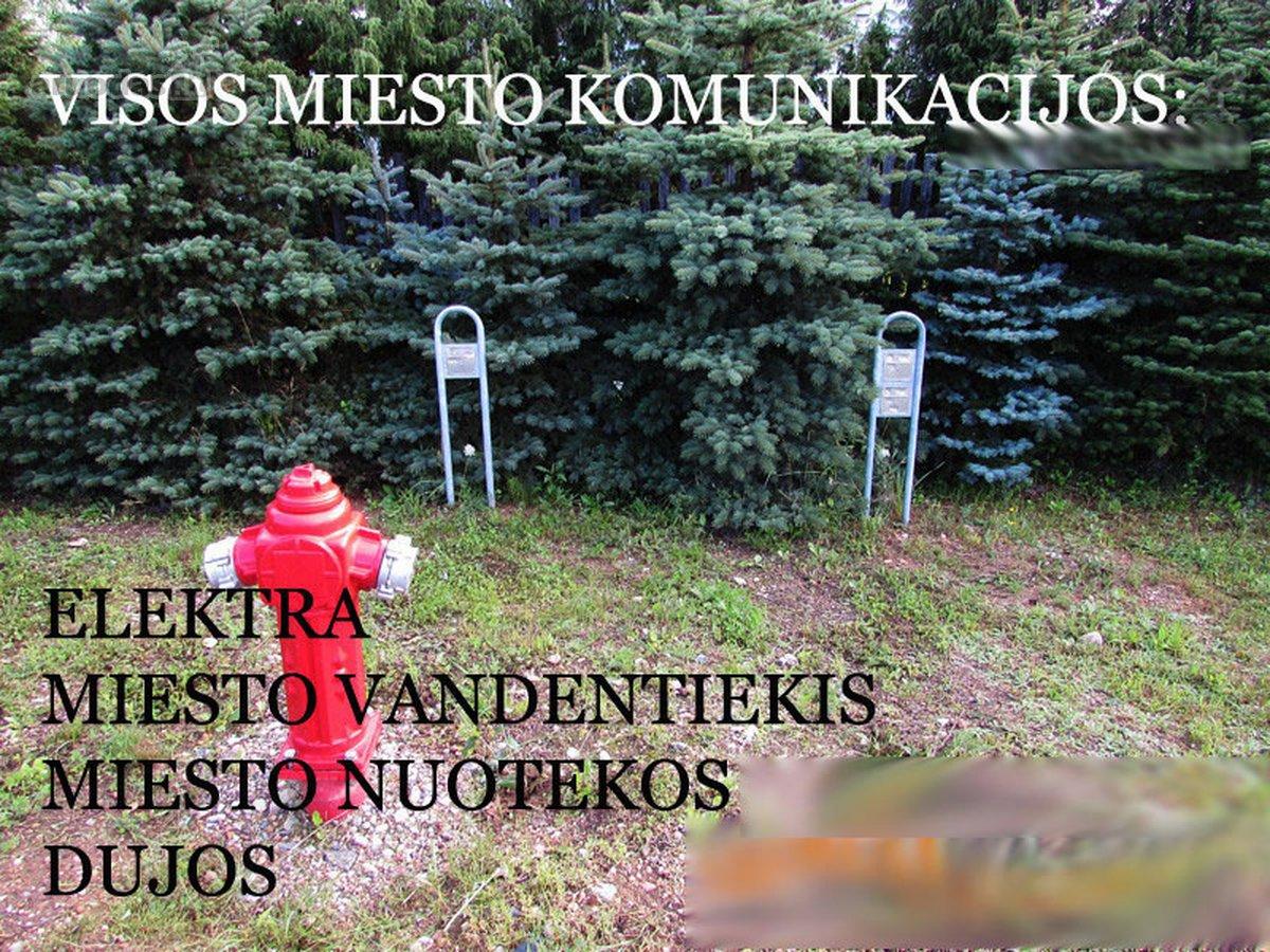 Vilnius, Pilaitė, Gelažių g., namų valdos paskirties sklypas