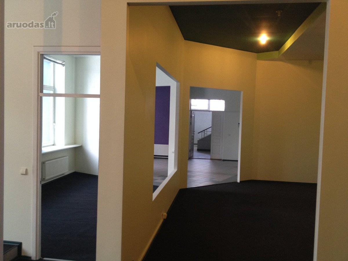Nuomojamos 119,24 m² administracinės/