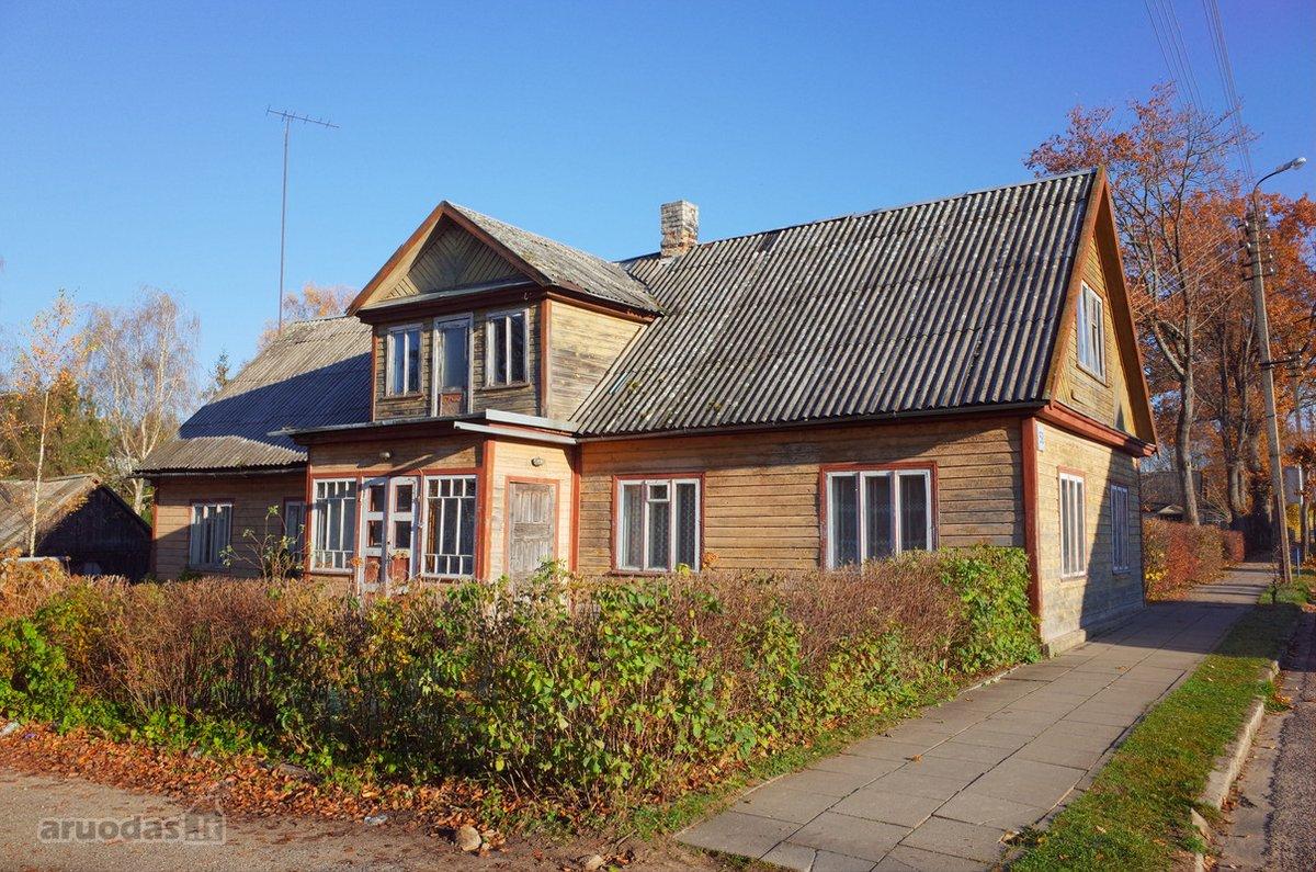 Zarasų r. sav., Dusetų m., Vytauto g., medinis namas