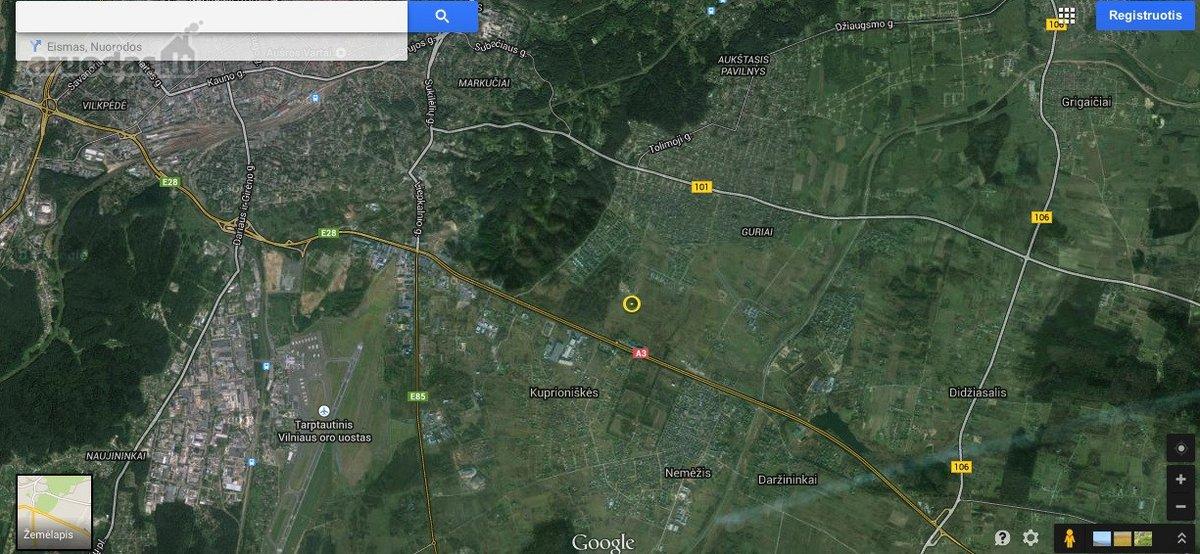 Vilnius, Kalnėnai, Estų g., namų valdos paskirties sklypas