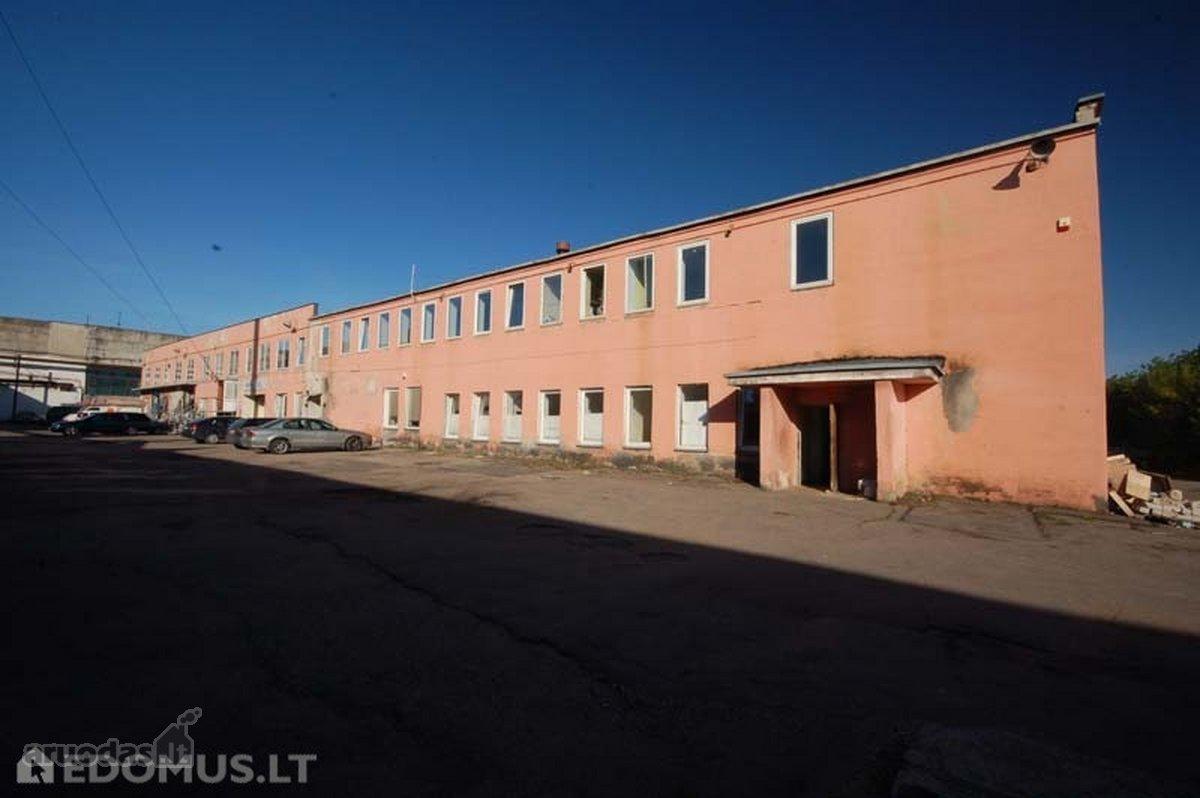 Parduodame pastatą Vilniuje, Savanorių pr.,