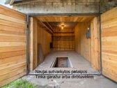Parduodamas mūrinis garažas ar patalpos