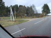 Pravažiavus už Nemenčinės Sužionių keliu 8 km