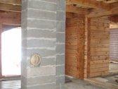 Parduodamas naujos statybos rąstinis namas