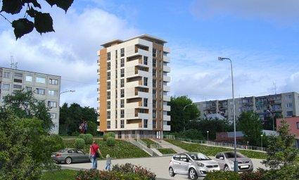 Daugiabutis gyvenamasis namas Žirmūnų g. 48E, Vilniuje
