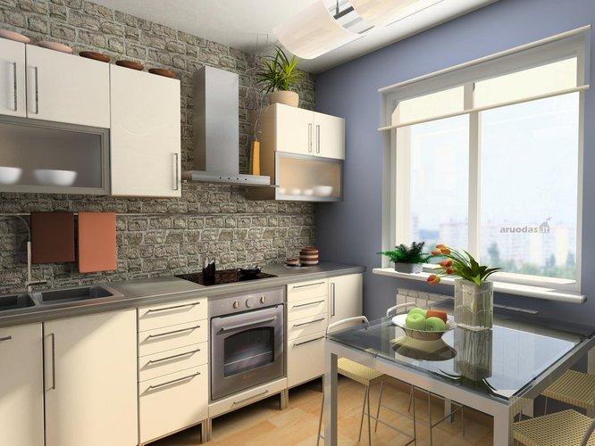 Klasikinės virtuvės dizainas