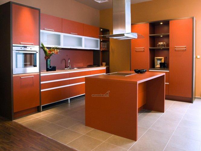 Orandžinė virtuvė