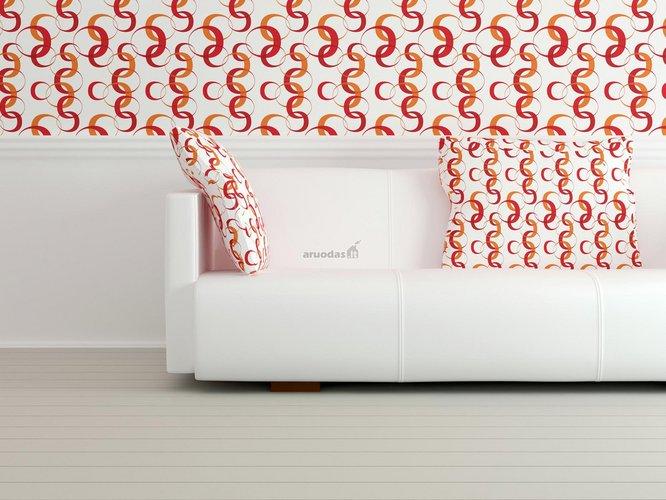 Originalus sienos tapetas