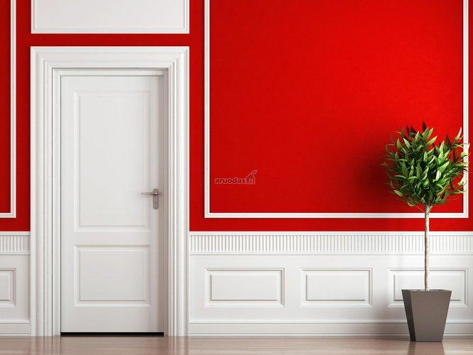 Alta - raudona interjeras