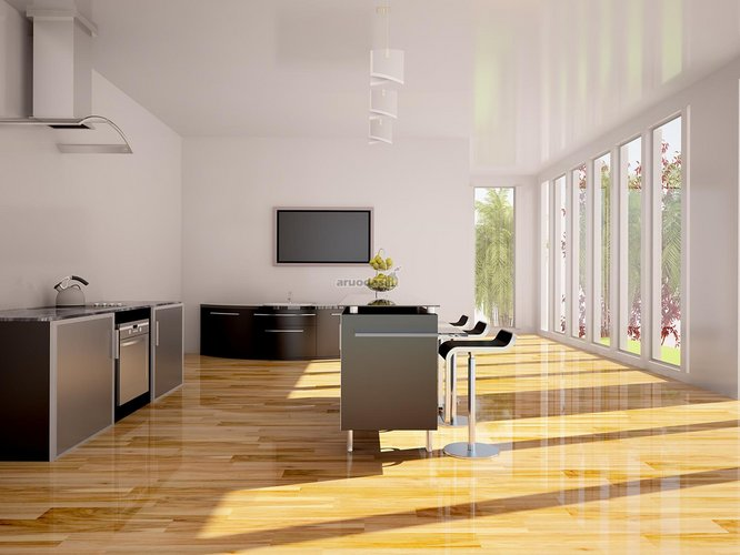 Moderni, minimalistinė virtuvė