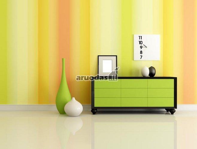 žalias akcentas moderniame dizaine