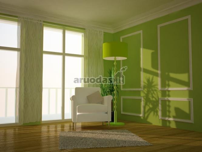 žalias poilsio kampas