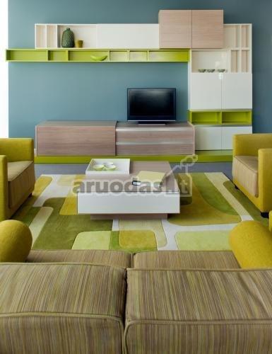Keletas žalių atspalvių svetainėje