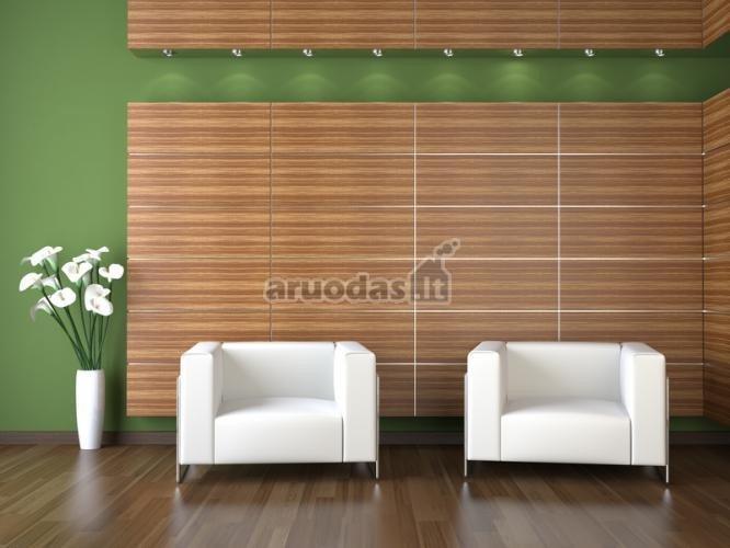 žalios svetainės sienos