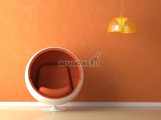 Oranžinis interjeras