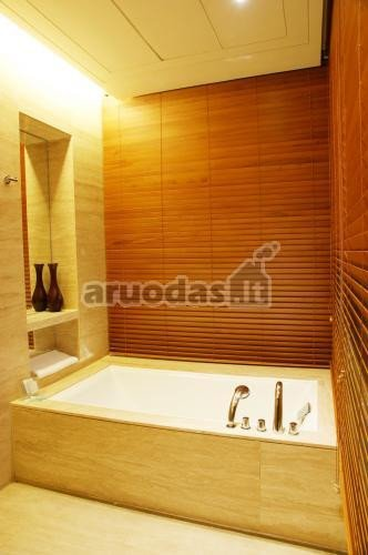 Ruda spalva vonios kambario dizaine