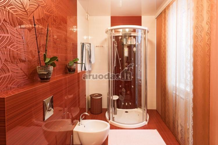 Rudos vonios kambario plytelės