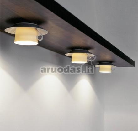 šviestuvas iš puodukų