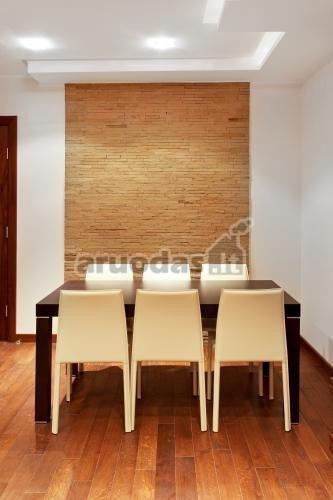 Plytų tekstūra kaip kambario akcentas