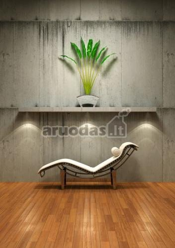 Betono tekstūra minimalistiniame stiliuje