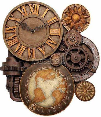 Senovinis, su jūreiviškais elementais laikrodis