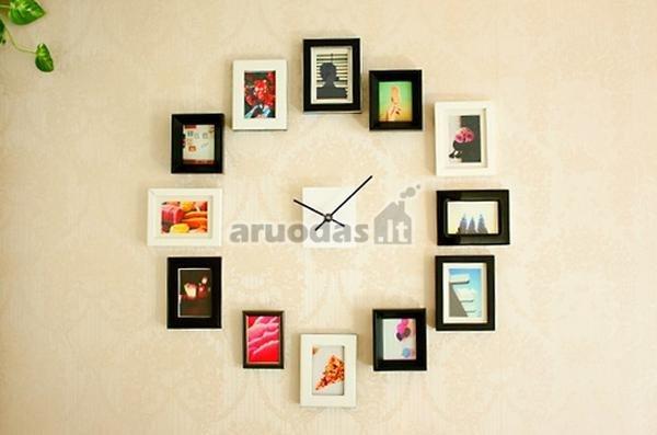 Laikrodis, sukonstruotas iš nuotraukų