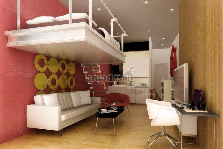 Nedidelės erdvės 1 kambario butas