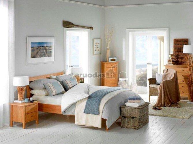 Vintažinio stiliaus miegamasis