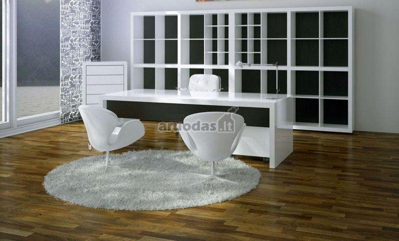 Baltas darbo kambarys