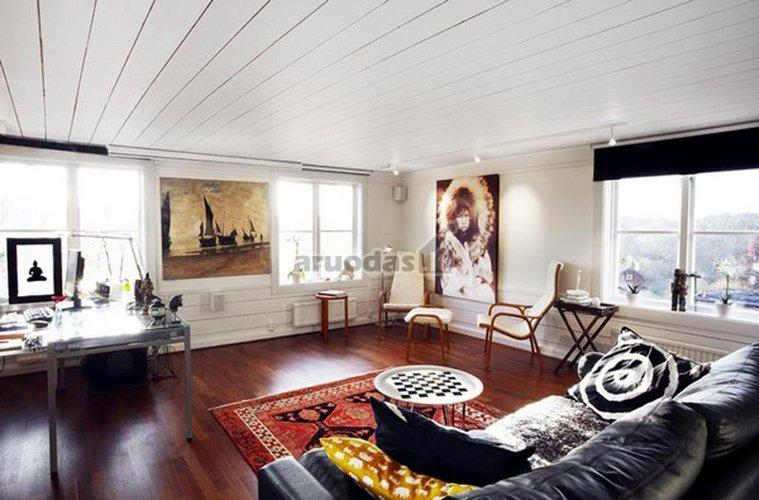 Skandinaviško stiliaus svetainės dizainas